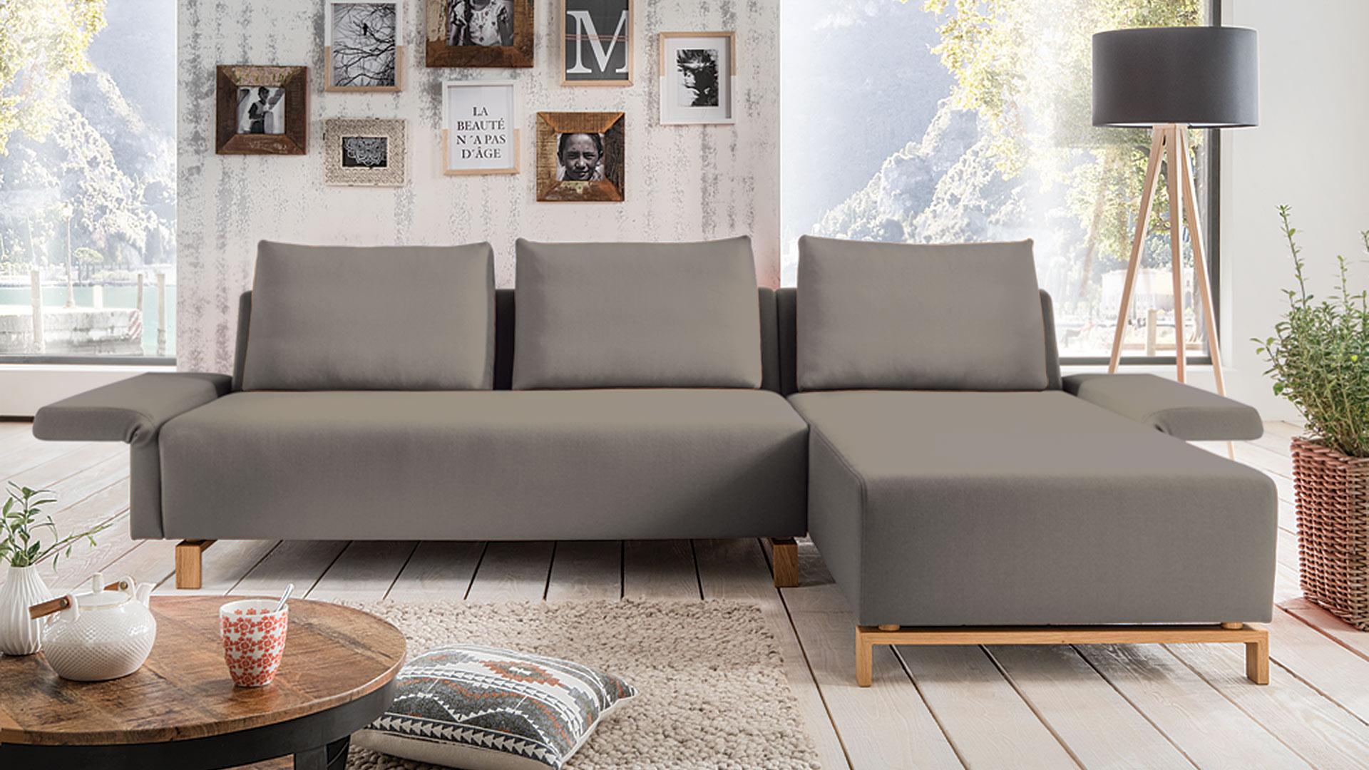 couch mit recamiere fino. Black Bedroom Furniture Sets. Home Design Ideas