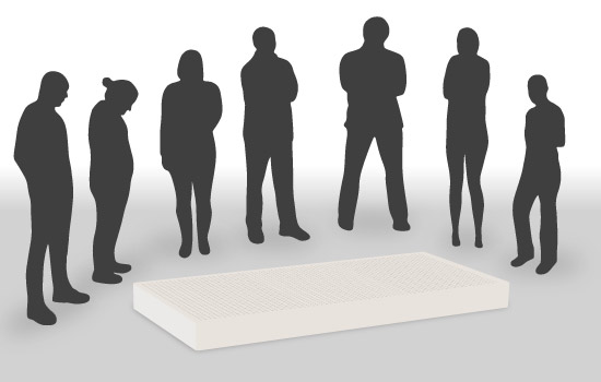 eine matratze f r jedermann das ist quatsch. Black Bedroom Furniture Sets. Home Design Ideas