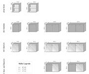 k chenh ngeschrank culinara 100 massivholz. Black Bedroom Furniture Sets. Home Design Ideas