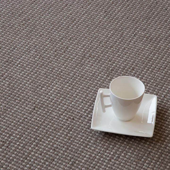 Auslegeware Teppich grau