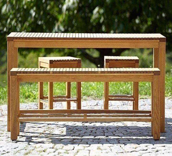 Garten-Bartsichgarnitur