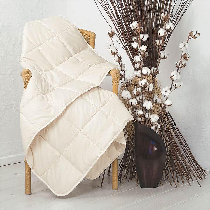 Baumwoll-Leicht-Bettdecke