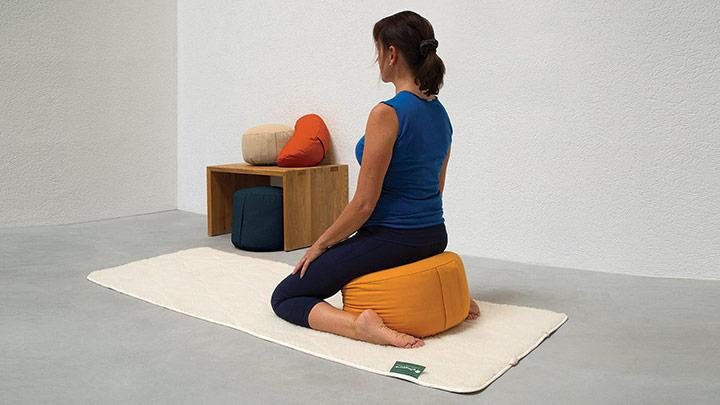 Kapok-Meditationskissen bei allnatura