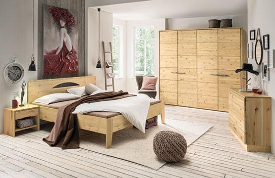Schlafzimmer Zirbe