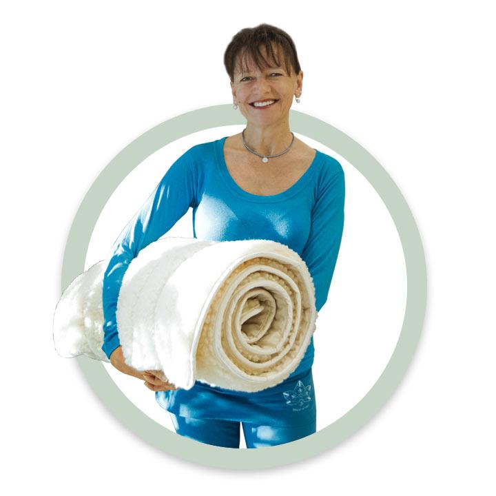 Die Yoga-Lehrerin Petra