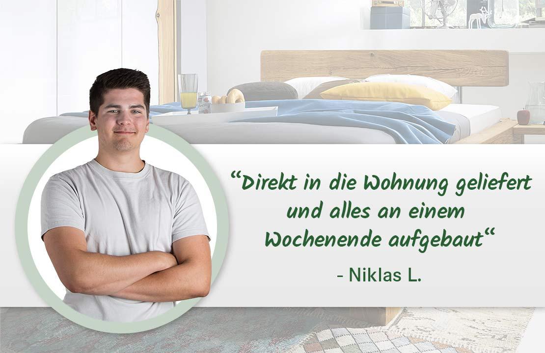 Niklas erste Wohnung