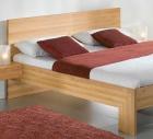 """Einzelbett und Doppelbett """"Rivaro 01"""" - ohne Oberflächen-Behandlung"""