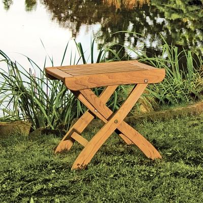 Empfehlung: Gartenhocker aus umweltfreundlichen Holz  von allnatura*