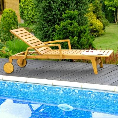Empfehlung: Gartenliege aus nachhaltigem Robinienholz  von allnatura*