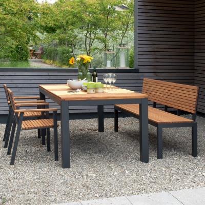Empfehlung: Nachhaltiges FSC® Holz Gartenmöbel-Set  von allnatura*