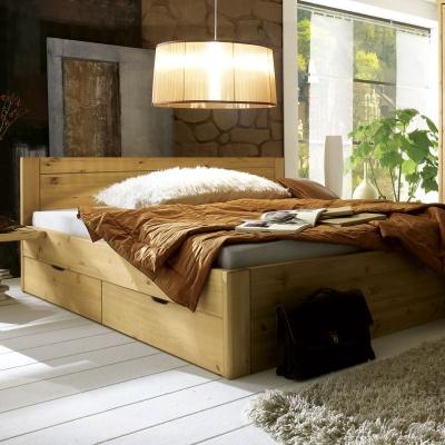 Empfehlung: Bett mit Schubkasten – Nachhaltiges Kieferholz  von allnatura*