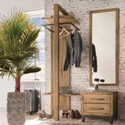 Empfehlung: Garderobe Flurmöbel aus Wildeichenholz  von allnatura*