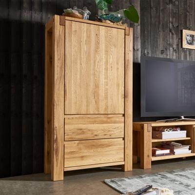 Empfehlung: Highboard Wohnzimmermöbel Massivholz Eiche  von allnatura*