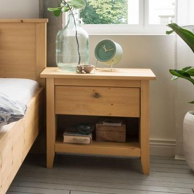 Empfehlung: Massivholz Nachttisch nachhaltig produziert  von allnatura*