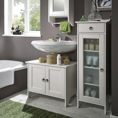 Empfehlung: Badschrank: FSC® zertifiziertes Kiefernholz  von allnatura*