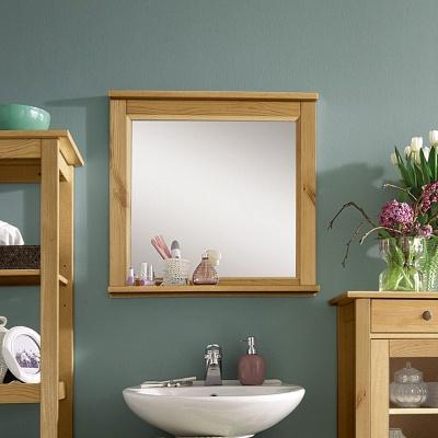 Empfehlung: Bad Spiegel aus zertifiziertem Kiefernholz  von allnatura*