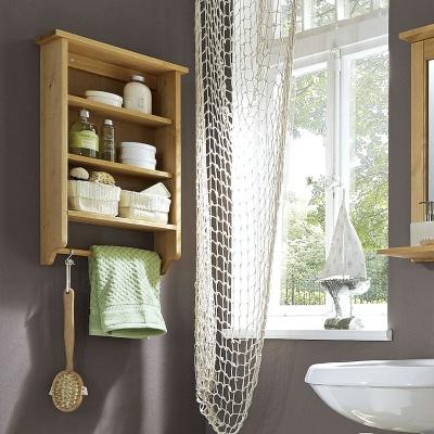 Empfehlung: Badezimmer Wandregal – Kiefernholz  von allnatura*