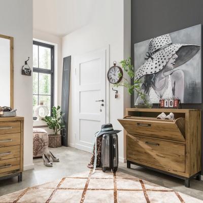 Empfehlung: Garderoben-Set modern im Vintage-Look Industriestil  von allnatura*
