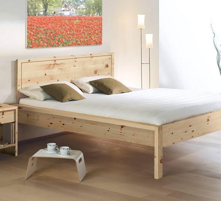 """Einzelbett und Doppelbett """"Malvesia"""" - Zirbe"""