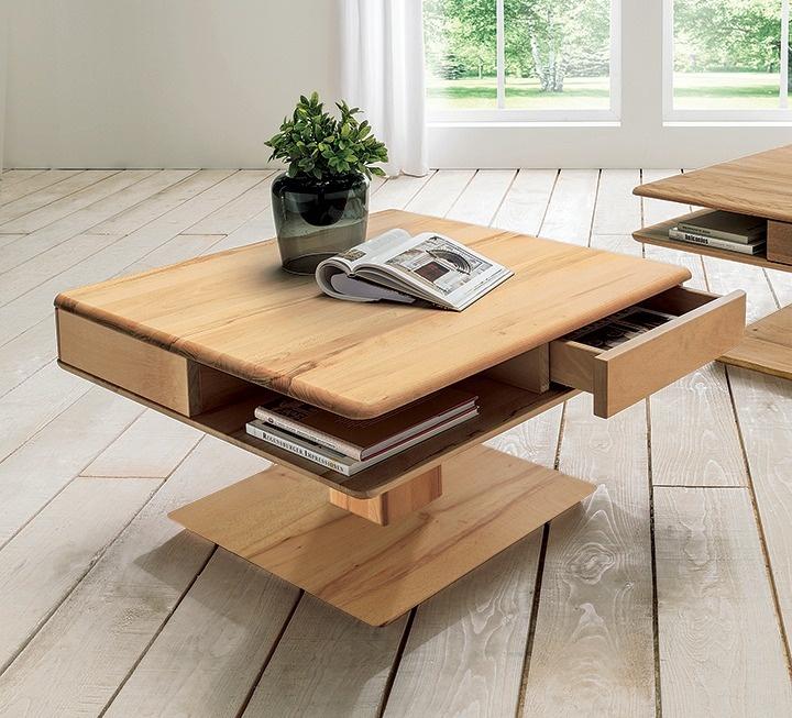 massivholz couchtische mit funktion. Black Bedroom Furniture Sets. Home Design Ideas