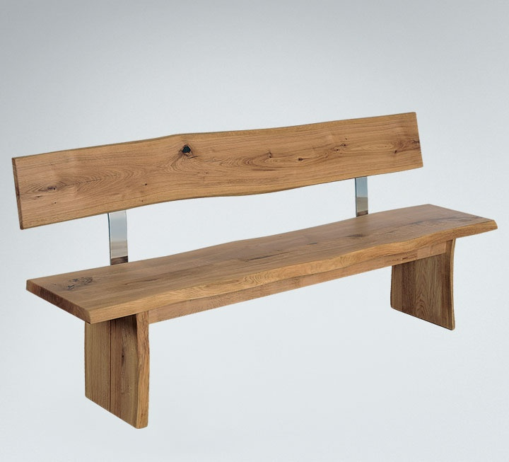 massivholz sitzb nke mit r ckenlehne. Black Bedroom Furniture Sets. Home Design Ideas