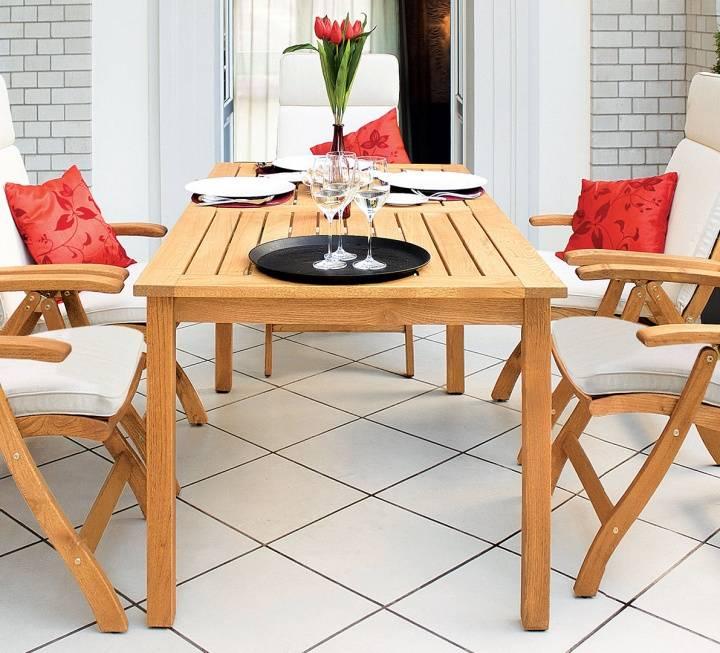 """Polsterauflage für Gartenklappstuhl """"Celano"""""""