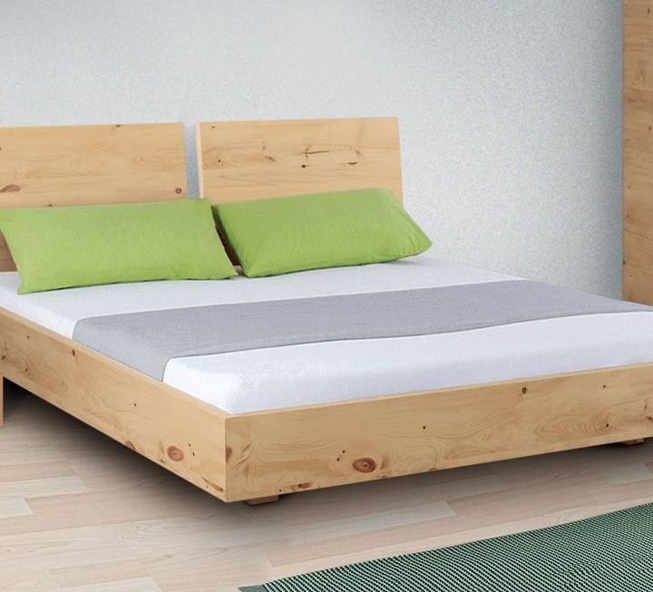 """Doppelbett """"Turvo 02"""" - Zirbe - Schnäppchen 2127-2073"""