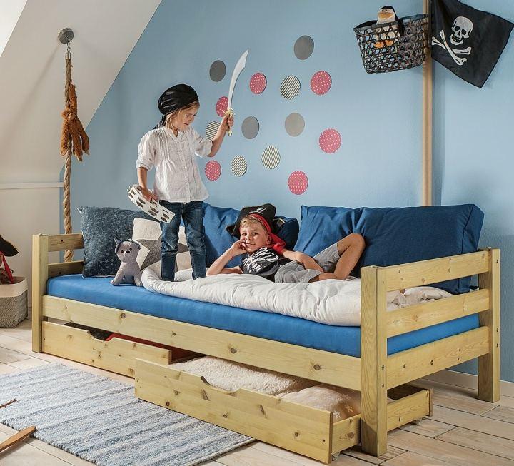 """Kinderbett """"Kiddy"""" - Schnäppchen 2127-2532"""