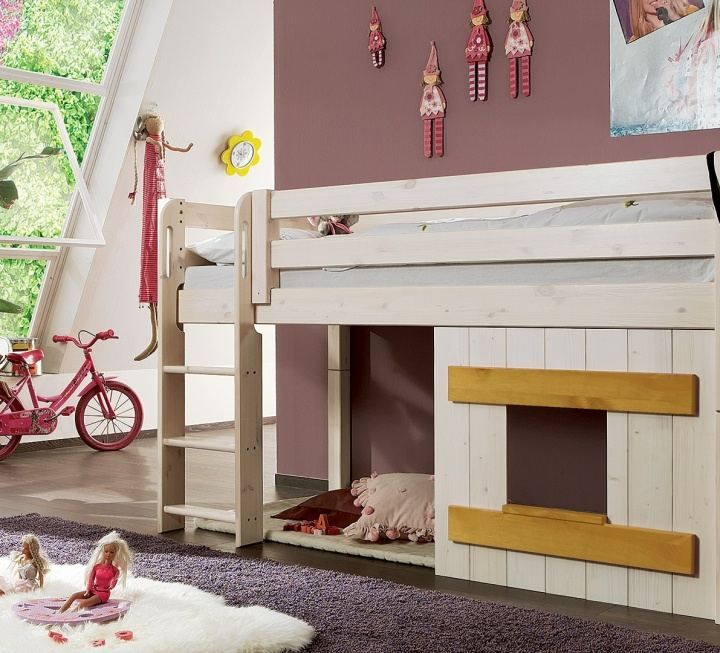 """Holzverkleidung für Mini-Hochbett """"Kiddy"""""""