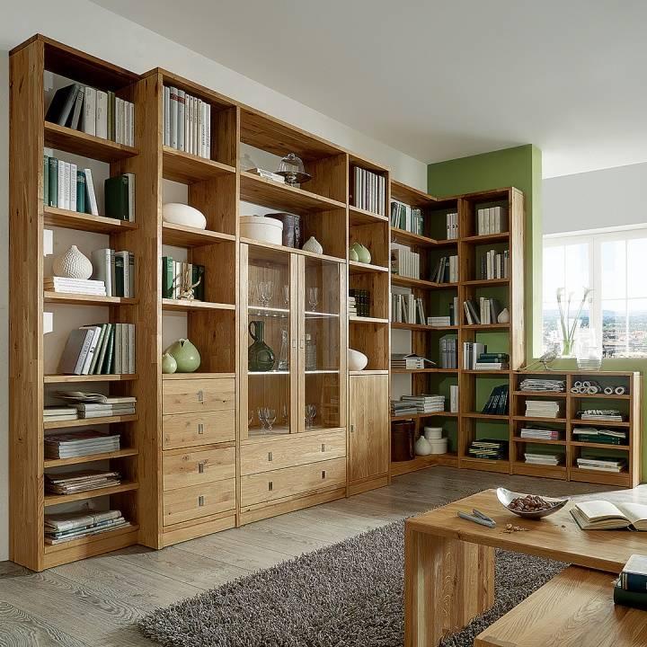 regal system calva wildeiche. Black Bedroom Furniture Sets. Home Design Ideas