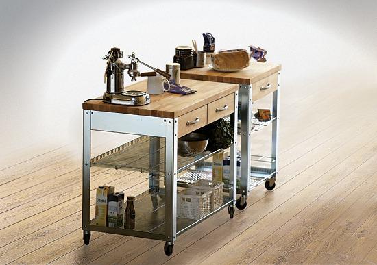 k chenwagen holz. Black Bedroom Furniture Sets. Home Design Ideas