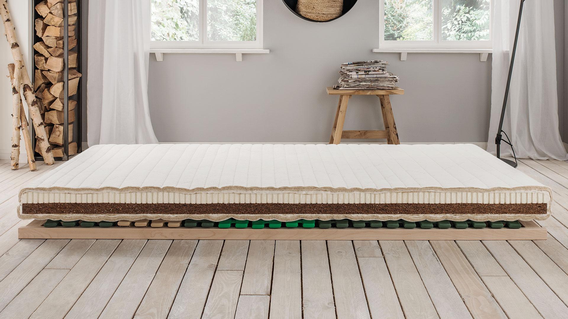 naturlatex kokos kindermatratze vita junior. Black Bedroom Furniture Sets. Home Design Ideas