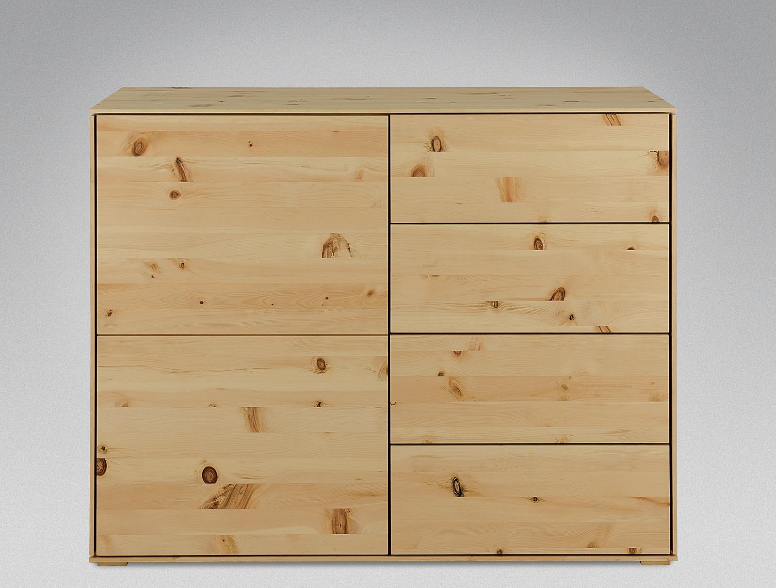 Kommode cervino for Kommode zirbenholz