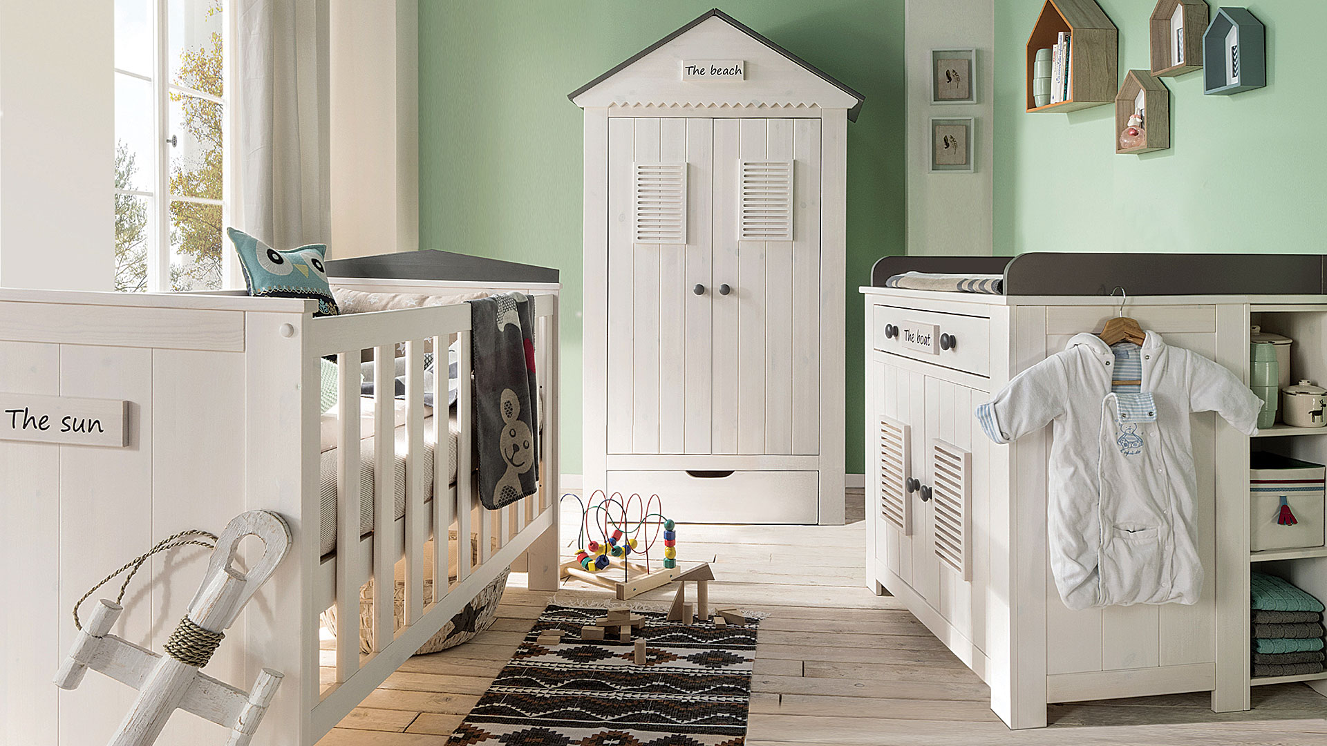 wickelkommode sunny massiv kiefer. Black Bedroom Furniture Sets. Home Design Ideas
