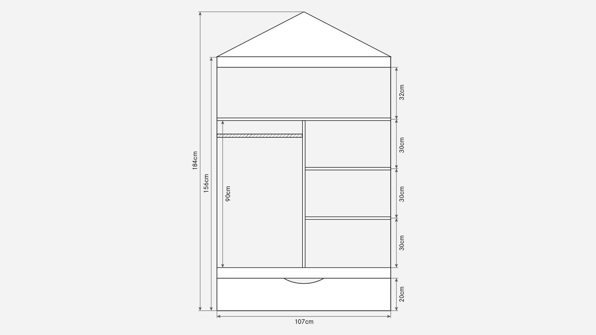 erfreut kinderzimmer schrank sunny galerie die besten. Black Bedroom Furniture Sets. Home Design Ideas