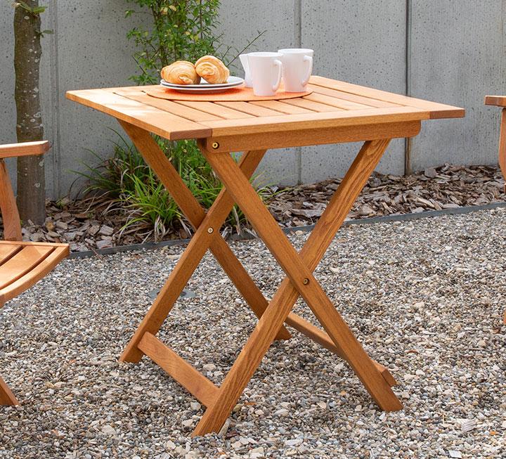 Gartentische Aus Massivholz