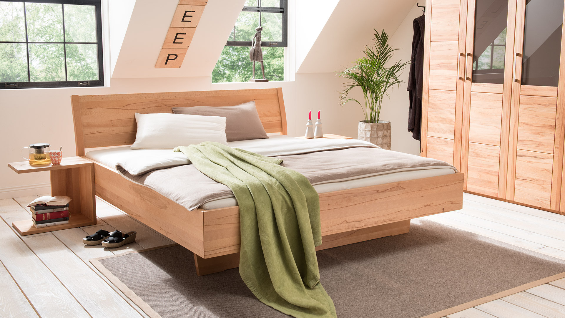 """Einzelbett und Doppelbett """"Tanara 02"""""""