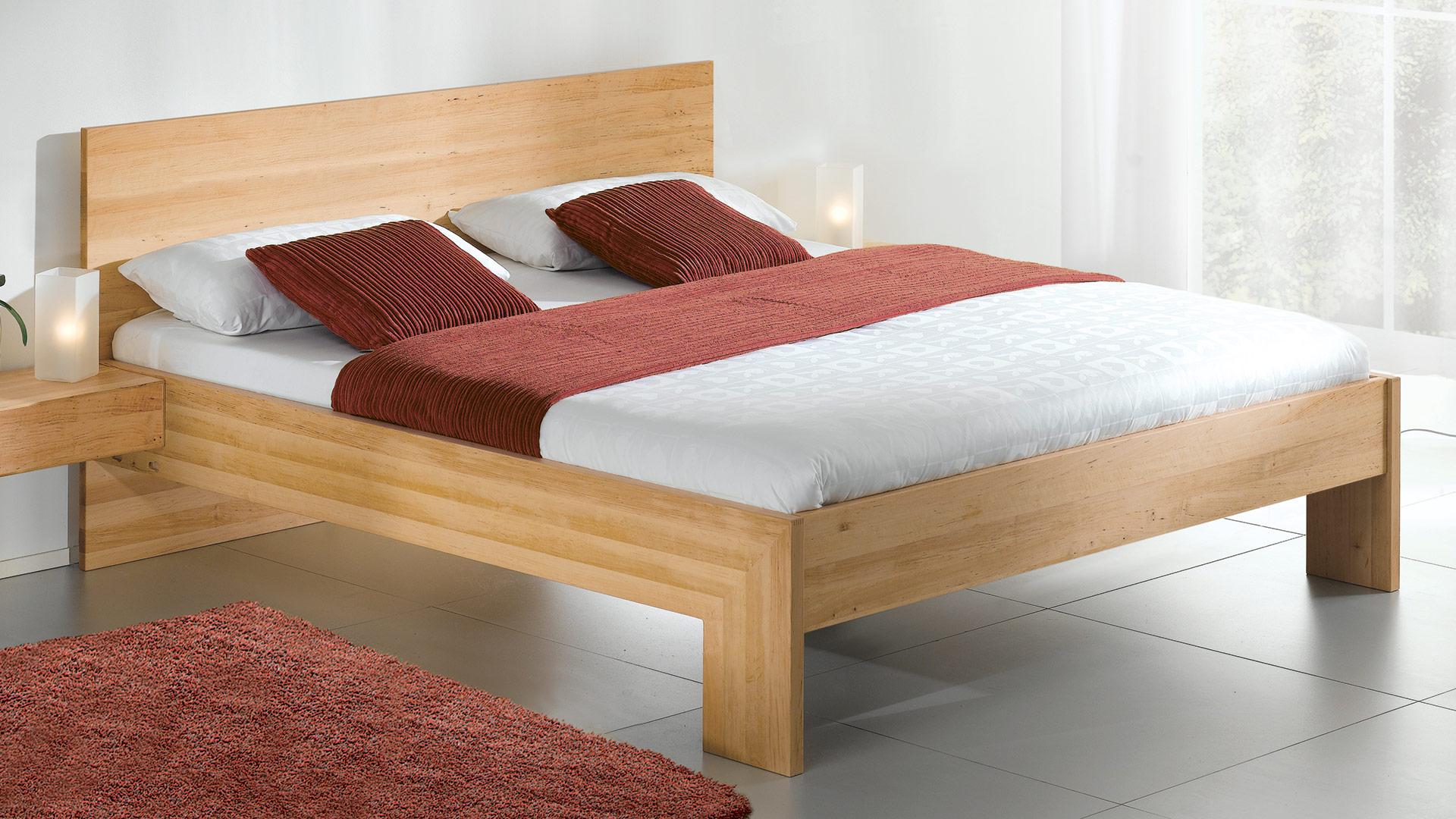 einzelbett und doppelbett rivaro 01 metallfrei. Black Bedroom Furniture Sets. Home Design Ideas