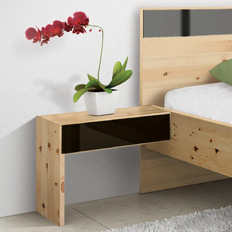 nachttisch rivaro 02 zirbe. Black Bedroom Furniture Sets. Home Design Ideas
