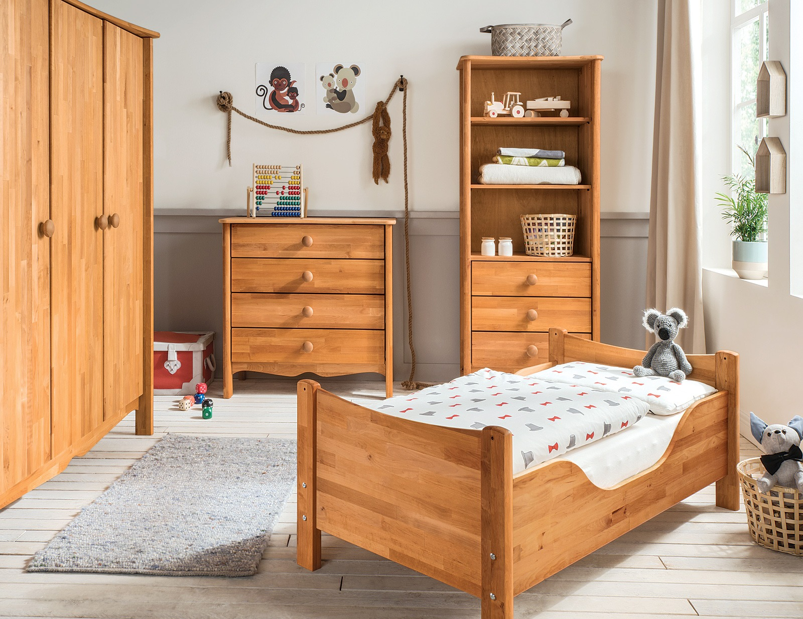 kommode lino perfekt f r das kinderzimmer. Black Bedroom Furniture Sets. Home Design Ideas