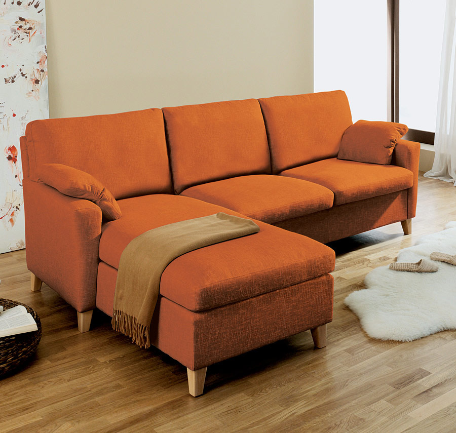 couch mit recamiere donelli. Black Bedroom Furniture Sets. Home Design Ideas