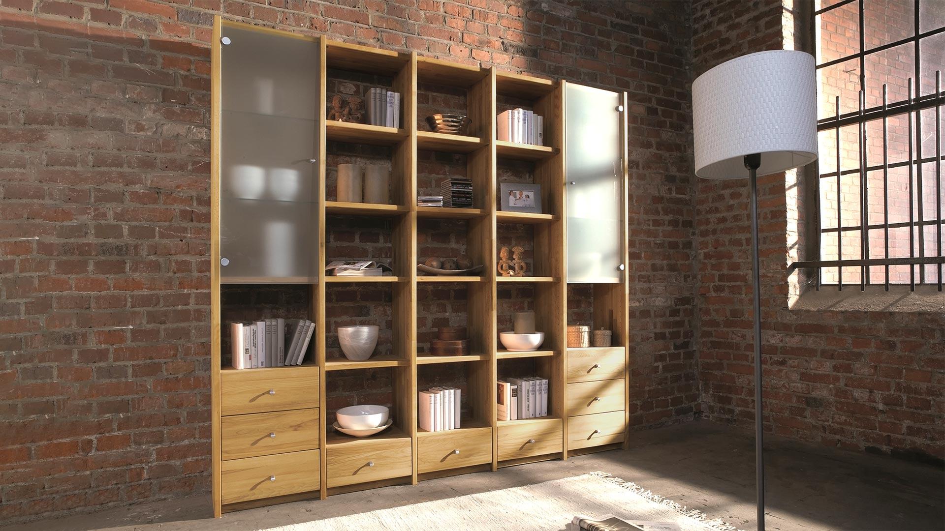Bücherregal System regal system sedes kernbuche allnatura de
