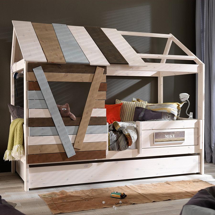 Kinderbett baumhaus selber bauen  Treppe Für Wickelkommode Selber Bauen: Weinfass babybett und viele ...