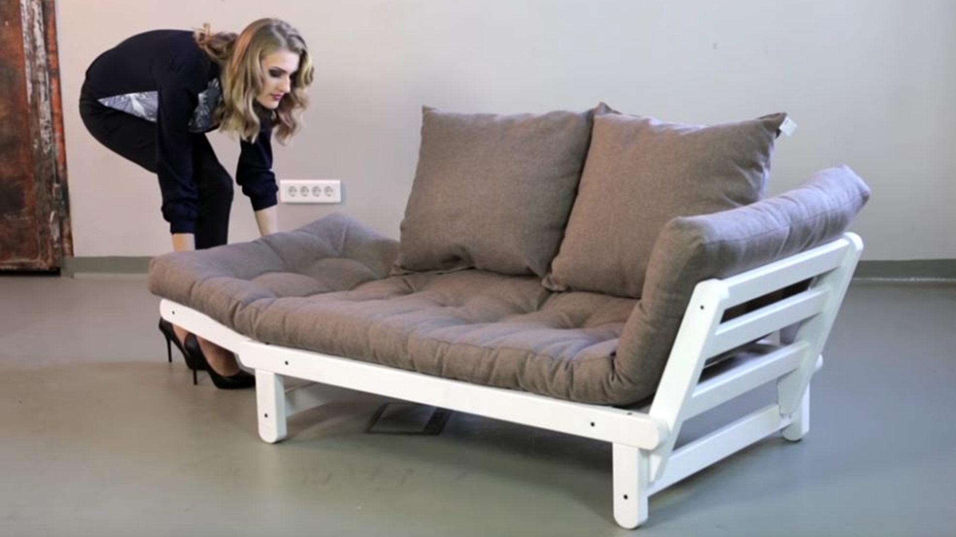 futon schlafsofa yoga. Black Bedroom Furniture Sets. Home Design Ideas