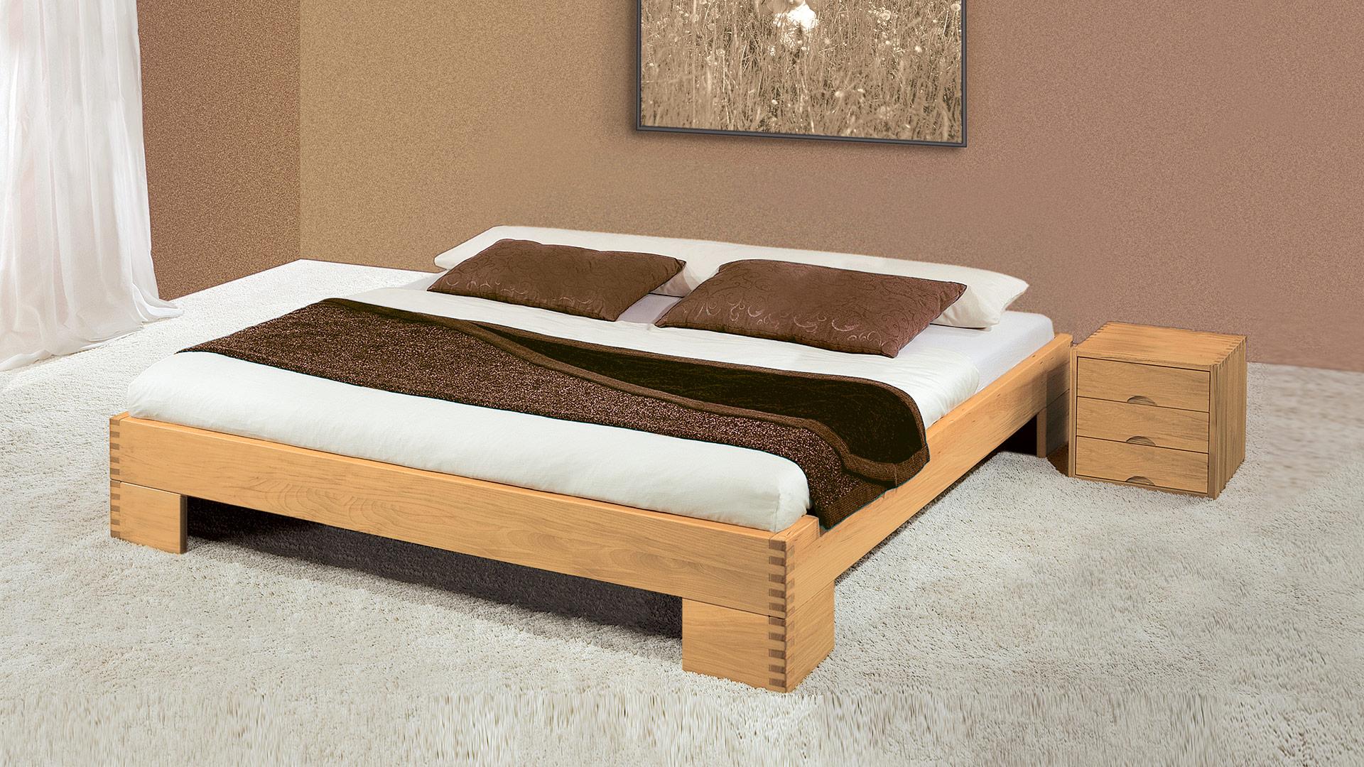 Allnatura Betten einzelbett und doppelbett liege allnatura de