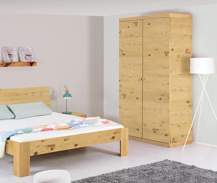 dreht ren kleiderschrank tavira massiv zirbenholz. Black Bedroom Furniture Sets. Home Design Ideas