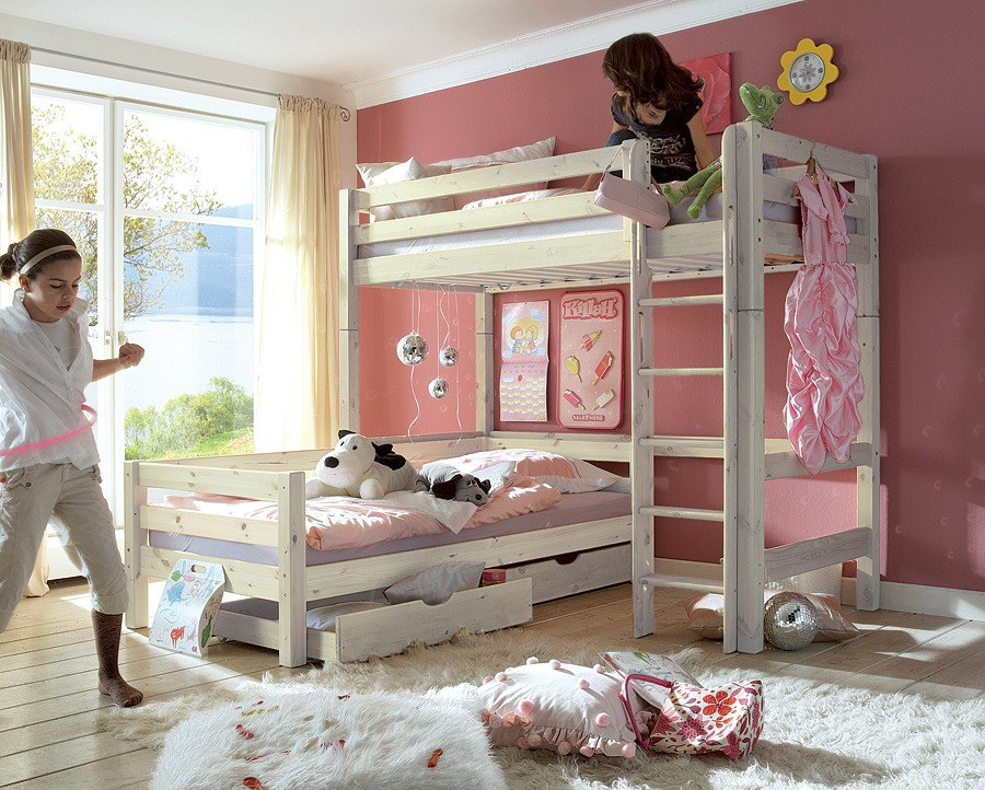 Etagenbett Holz Bio : Biokinder komplett set noah etagenbett erle