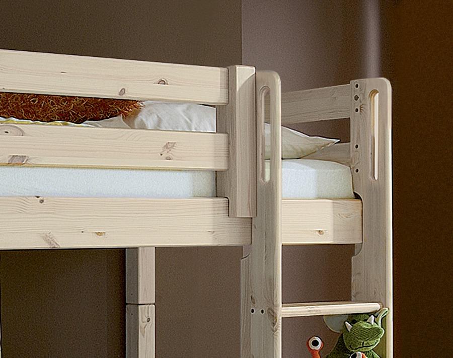 Etagenbett Zirbe : Etagenbett für mädchen aus massivholz mit herz von zwergenmöbel