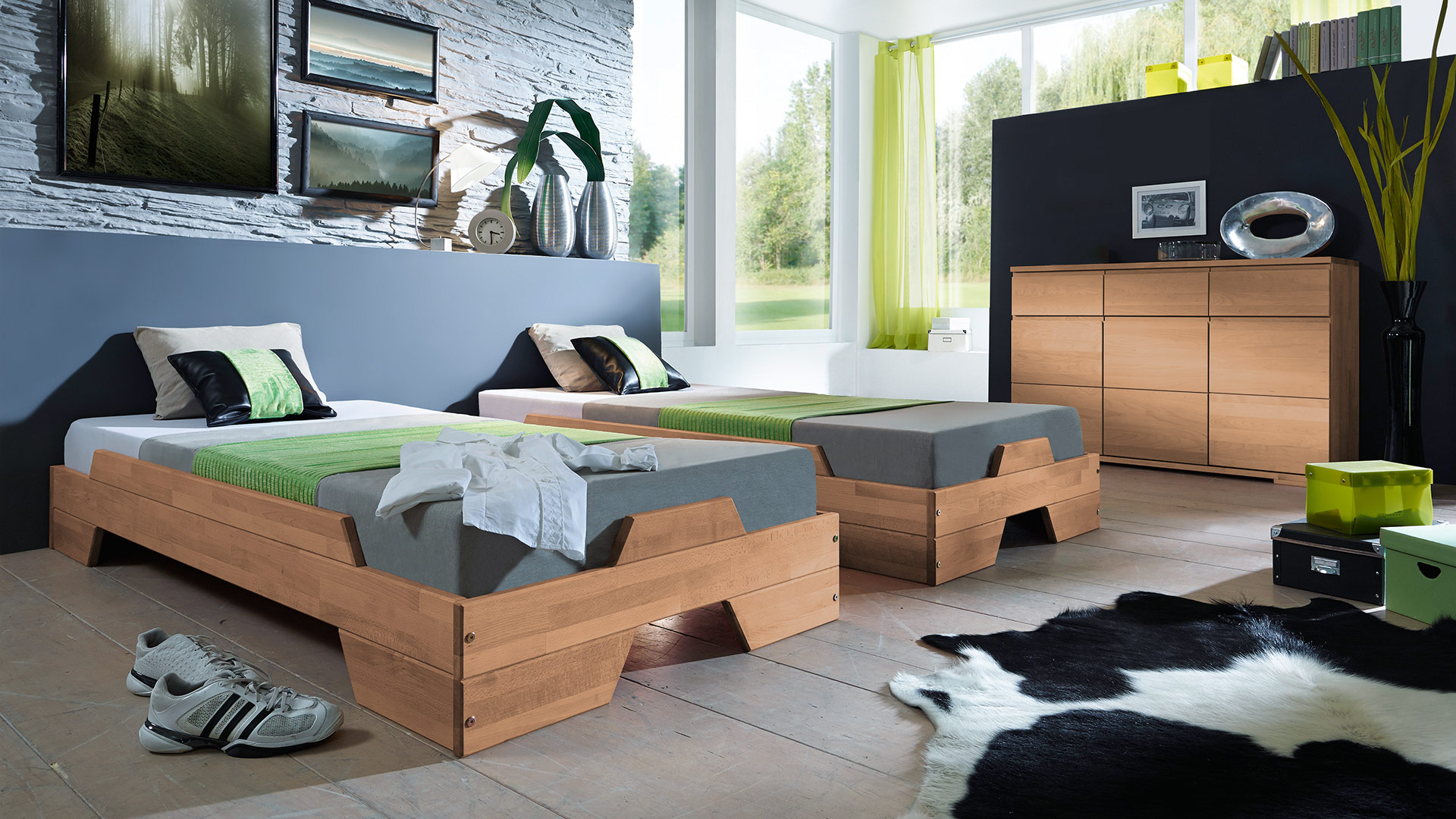stapelbett scalo. Black Bedroom Furniture Sets. Home Design Ideas