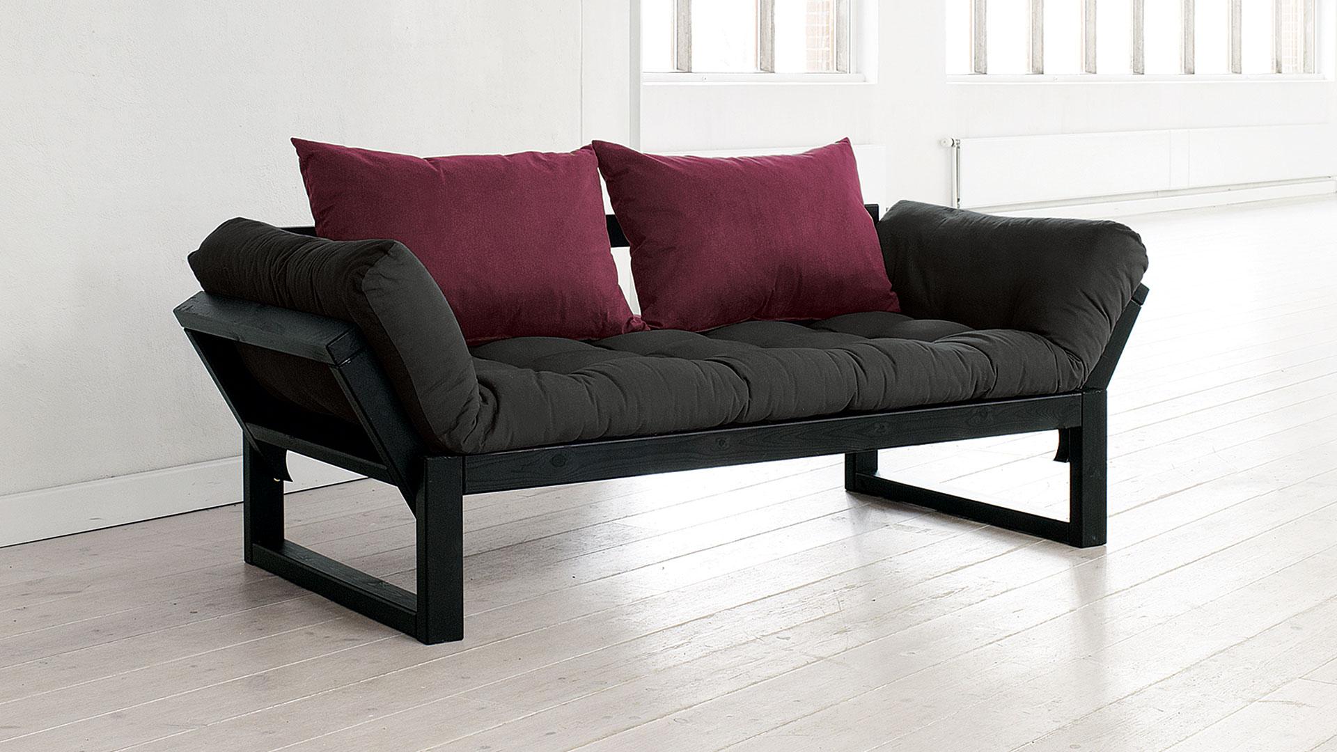 futon schlafsofa shako. Black Bedroom Furniture Sets. Home Design Ideas